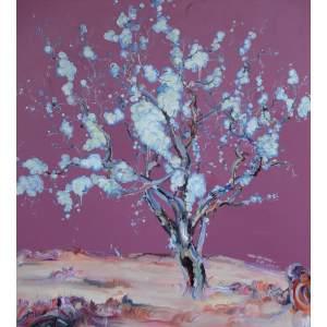 开花的李树